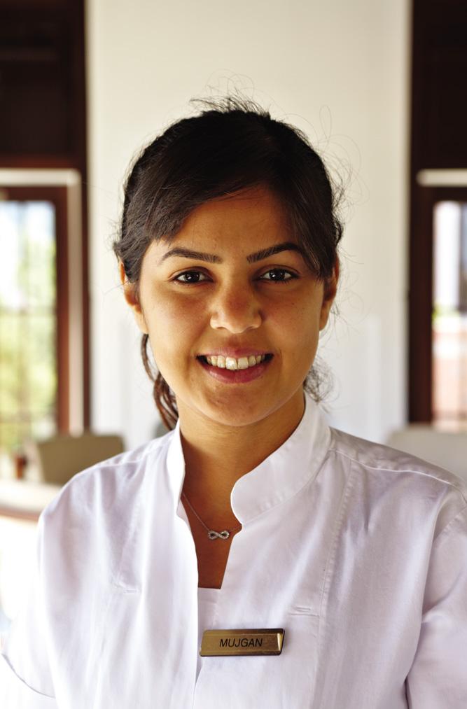 A waitress at Turkbuku Amanruya.