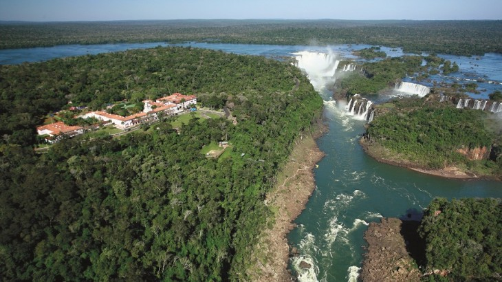 Brazil's Belmond Hotel Das Cataratas gives guests exclusive access to the amazing Iguassu Falls.