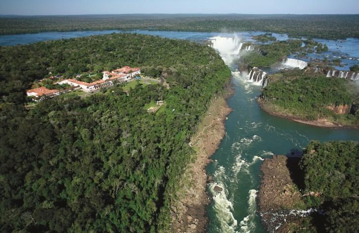Brazil's Belmond Hotel Das Cataratas gives guests exclusive access to the amazing Iguassu Falls.