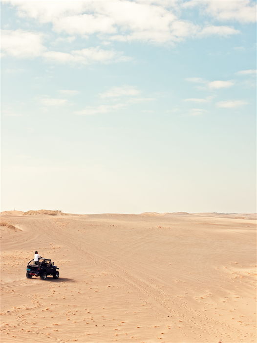The sand dunes of Paoay, stretching down to the coast at Suba Beach, provide Sahara-like scenery for off-road enthusiasts.