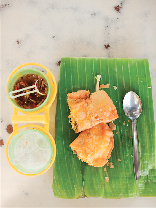 A classic Ilocano snack of deep-fried empanadas.