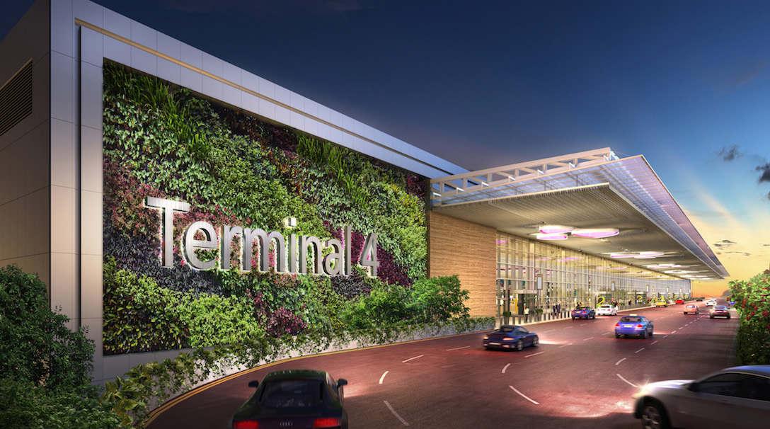 Image 1 - Driveway to Terminal 4 Departure Kerbside