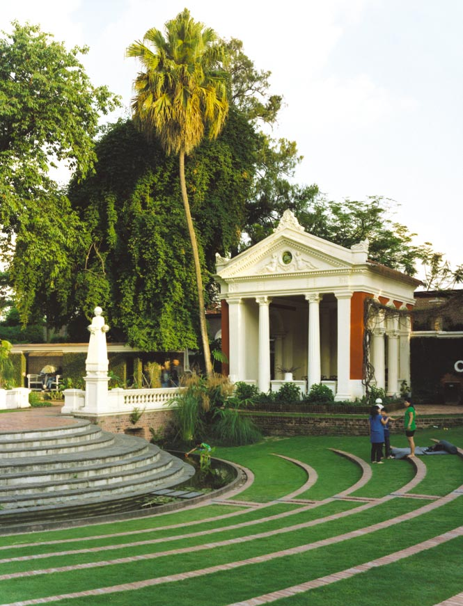 Urban Oasis On the grounds of the Garden of Dreams, a onetime aristocratic estate that has been transformed into a public park.