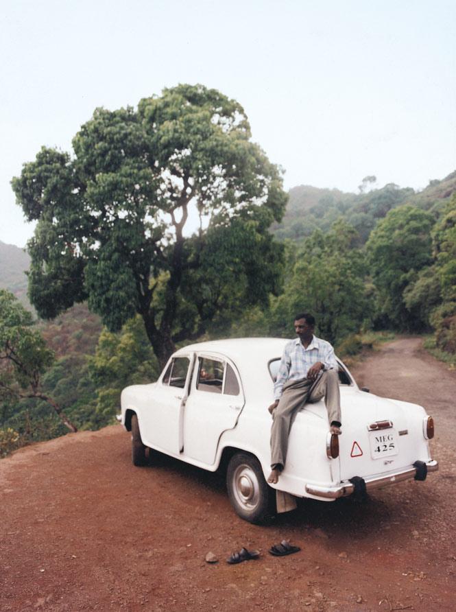 Chauffeur service à la Chikmagalur.