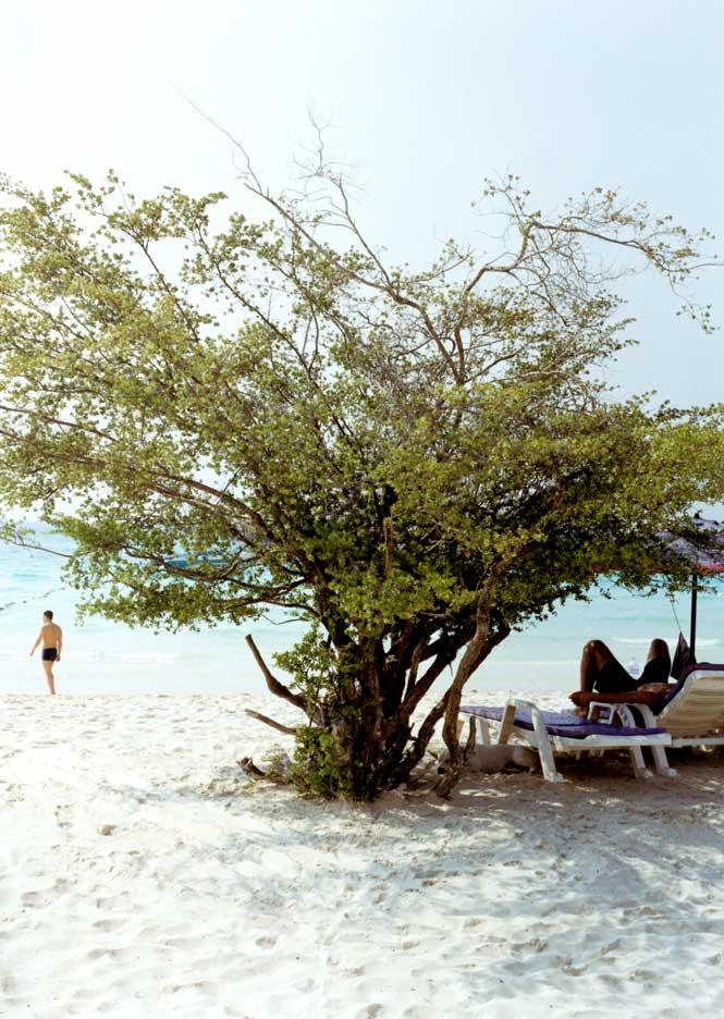 Thien Beach on Koh Laan.