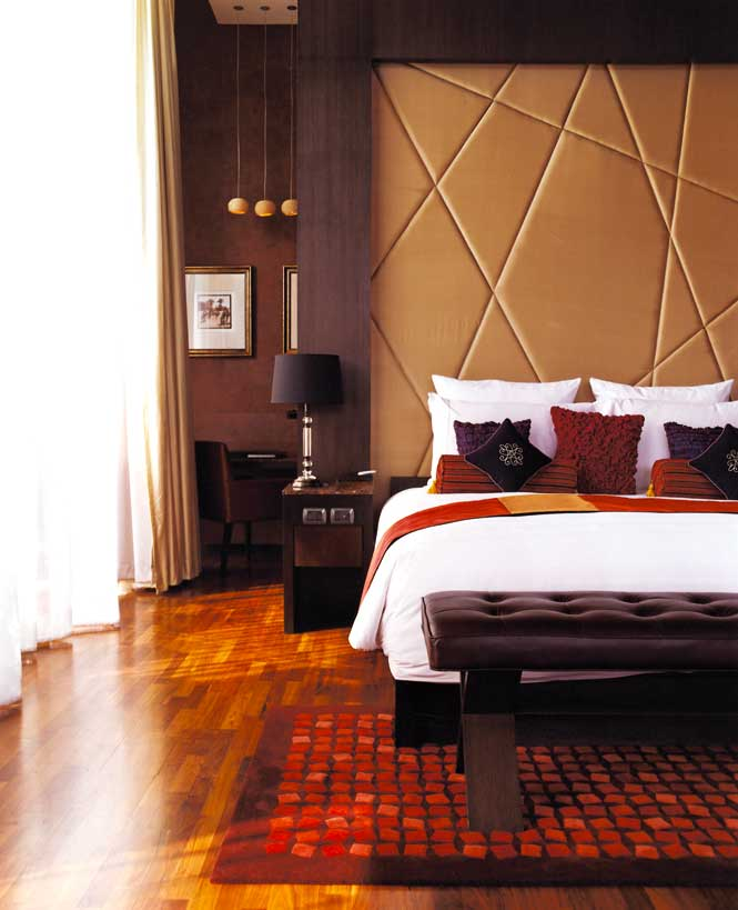 A bedroom at Vie Hotel.