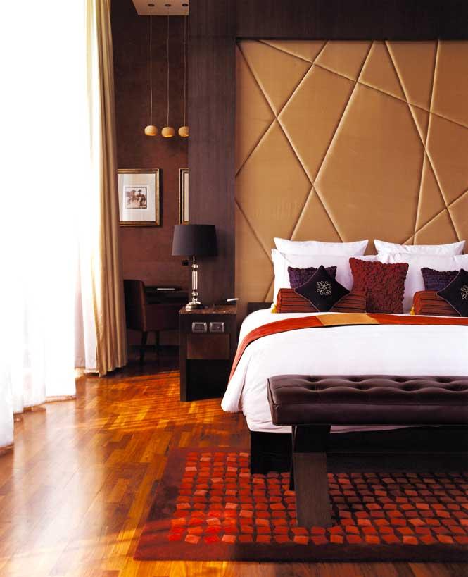 A bedroom at Vie Hotel.