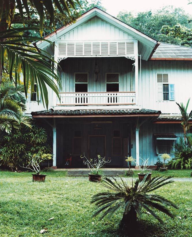Kantang's Phraya Ratsadanupradit mansion.