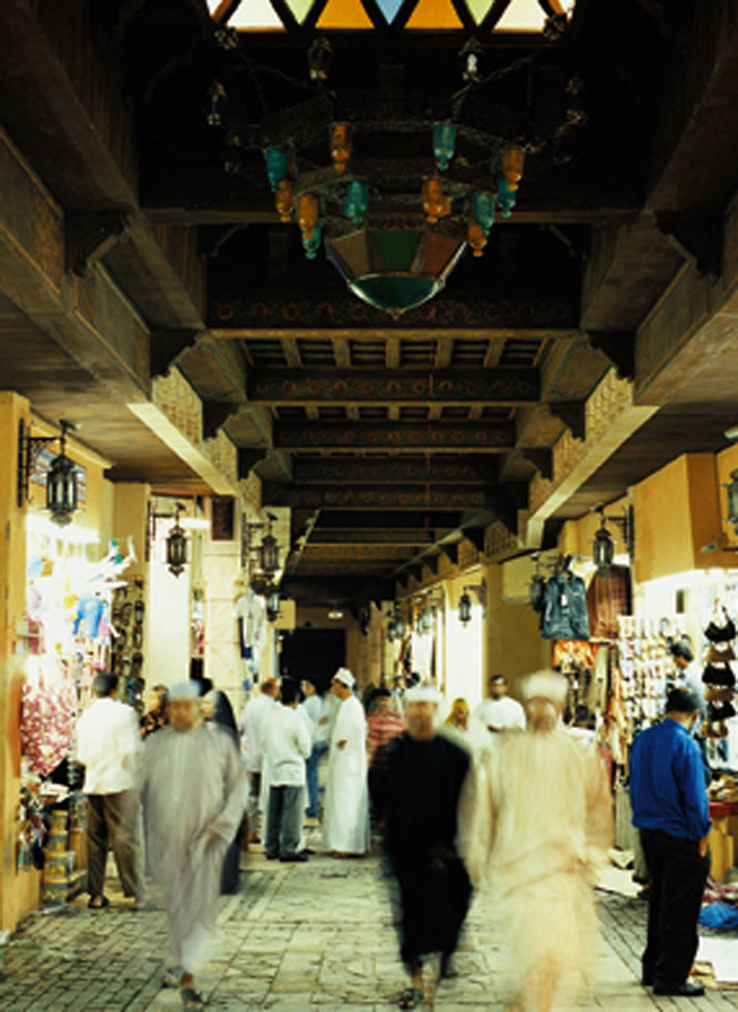 The old souk in Muttrah.