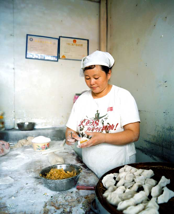Dumplings are popular street food in Dalian, and come filled with everything from pork and chives to scallops and sea snails.