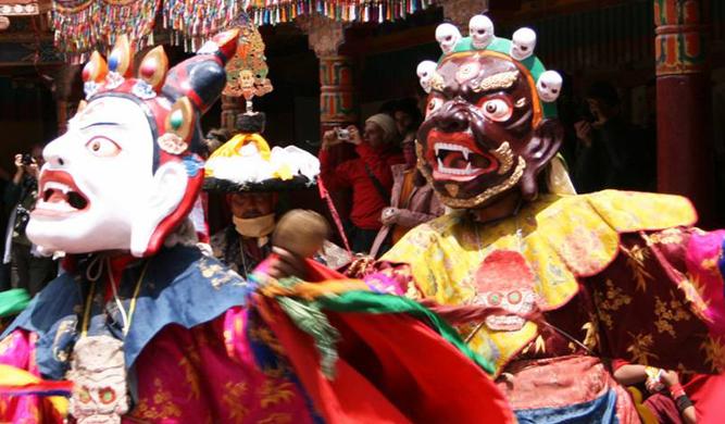 India Hemis Festival Ladakh Monastery