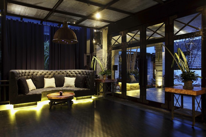 The interior of the Dirty Monstera night club.