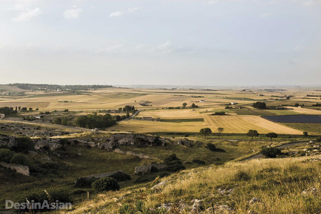Basilicata countryside.