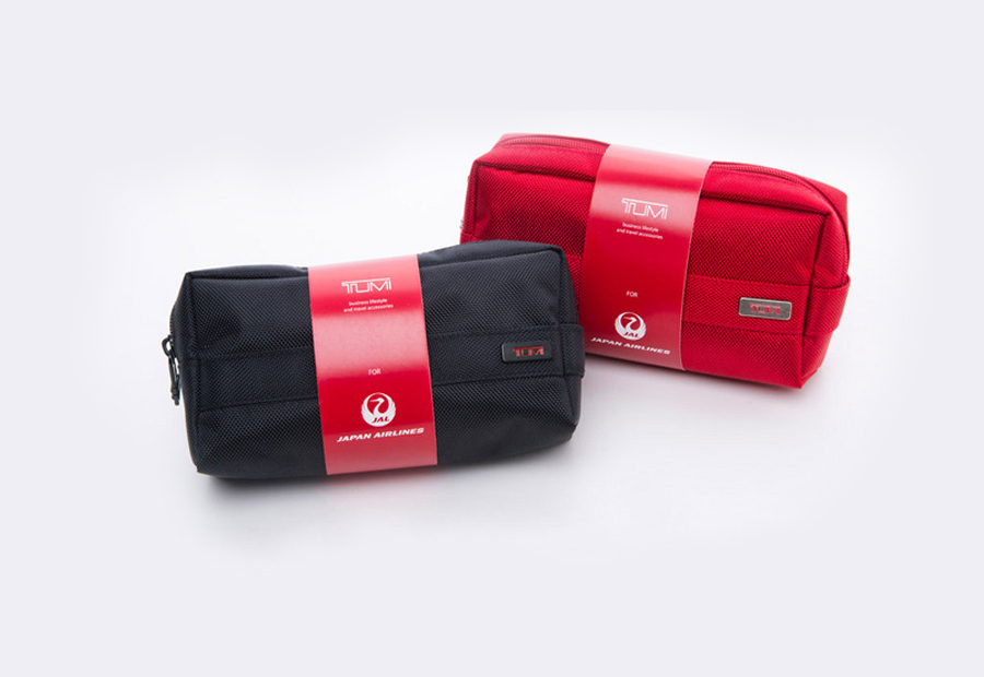 American luggage maker Tumi designed the new kits.