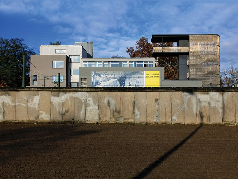 The Berlin Wall Memorial's renovated Documentation Center.