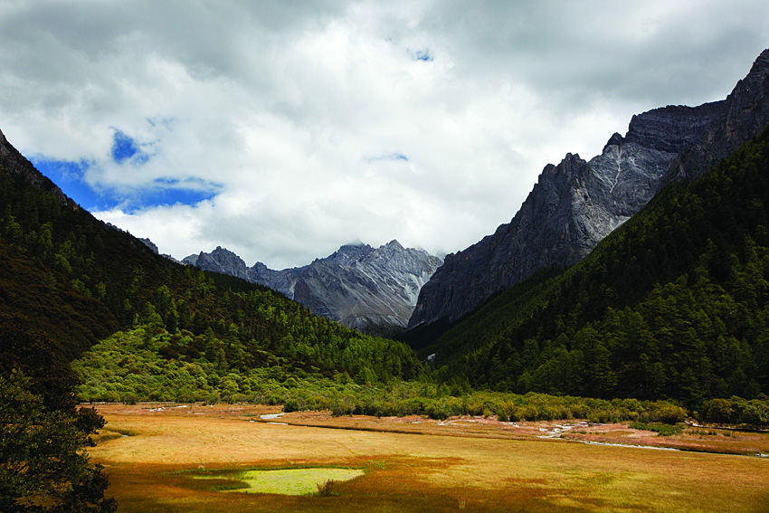 The Pasture, where centuries of pilgrims have camped in Yading, Sichuan Province.