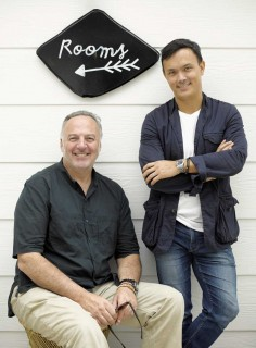 Oyster Inn Co-owners Andrew Glenn and Jonathan Rutherfurd Best