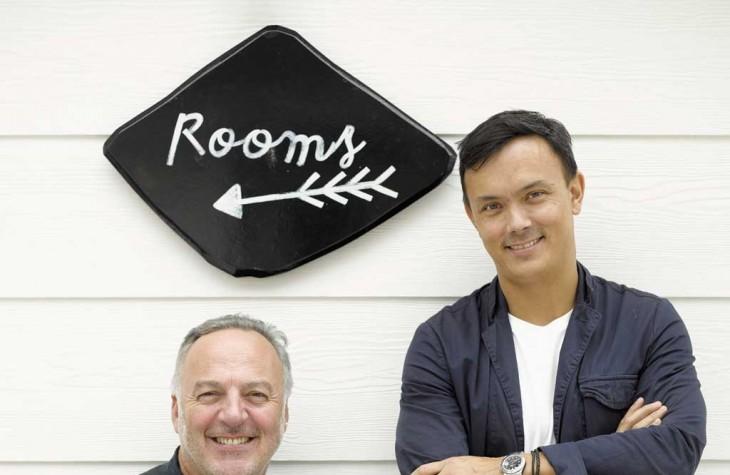 Oyster Inn Co-owners Andrew Glenn and Jonathan Rutherfurd Best