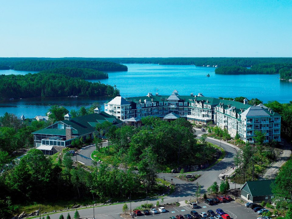 The JW Marriott Rosseau Muskoka.