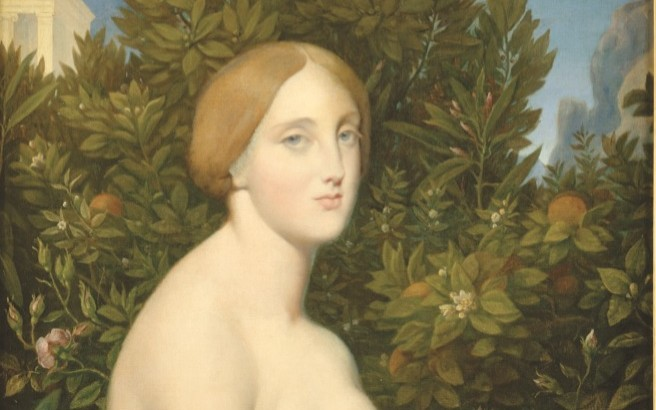 Singapore Museum: Jean Auguste Dominique Ingres - Venus at Paphos Sml