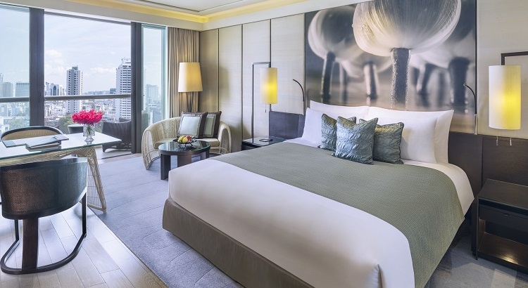 The Executive Room, just one of the many room types to choose from at Siam Kempinski Hotel Bangkok.