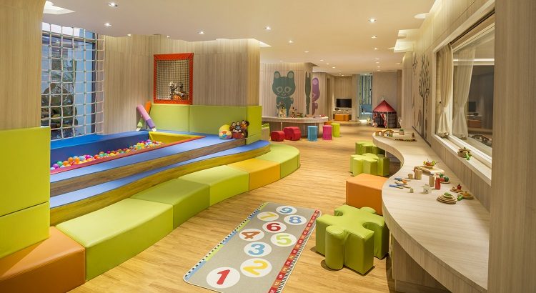 Kids will find themselves in good company at the Kempinski Kids Club.