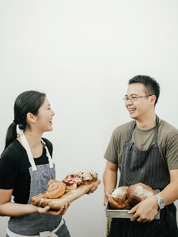 Marcus Low and Mei Wan Tan of the Kitchen Table.