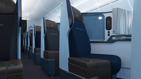 The new World Business Class features seats that recline fully flat.
