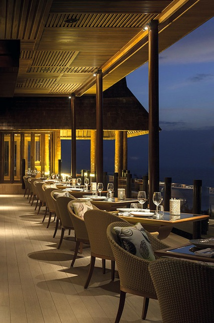 Koh Bar, the Four Seasons Resort Koh Samui's hilltop lounge.