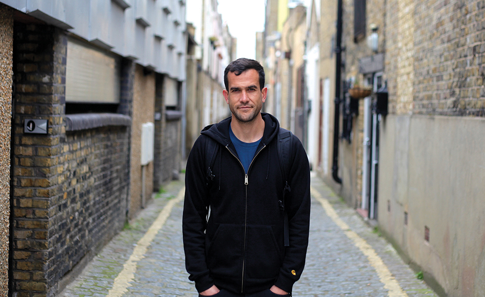 Graffiti artist Karim Samuels is another of SideStory's insiders.