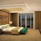 A Kasara Mangroves Suite bedroom.