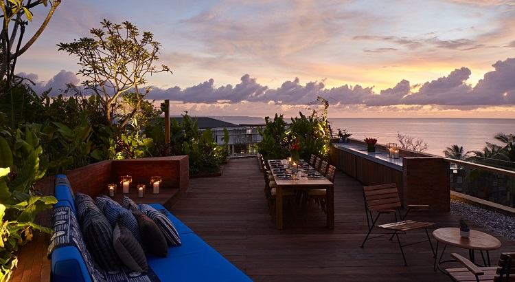 Rooftop Suites come with a private rooftop garden area with jacuzzi, outdoor shower, and an outdoor lounge.