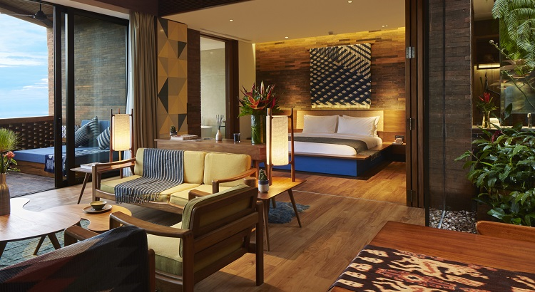Katamama's open-plan suites are spacious and residential in feel.