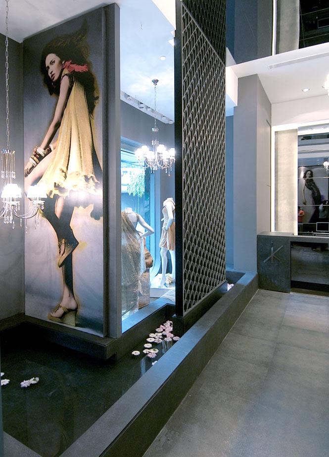 Designer surrounds in Chennai's new Kimaya Avenue boutique.