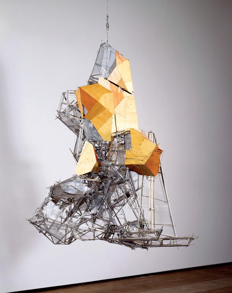 A Lee Bul sculpture at Lehmann Maupin's new Hong Kong outpost.