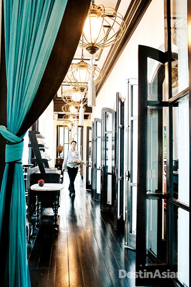 Colonial elegance pervades La Maison 1888.