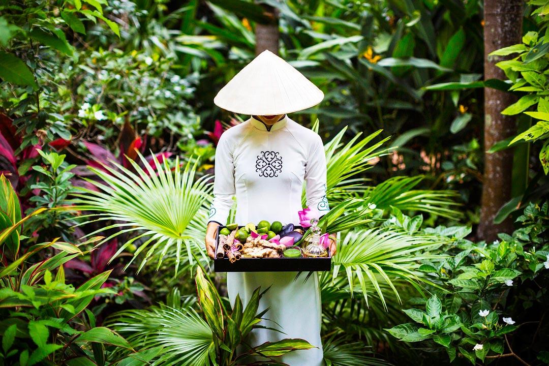 Guests can delight in La Veranda's organic spa.