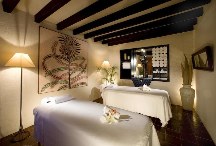 The hotel's Laja Spa.