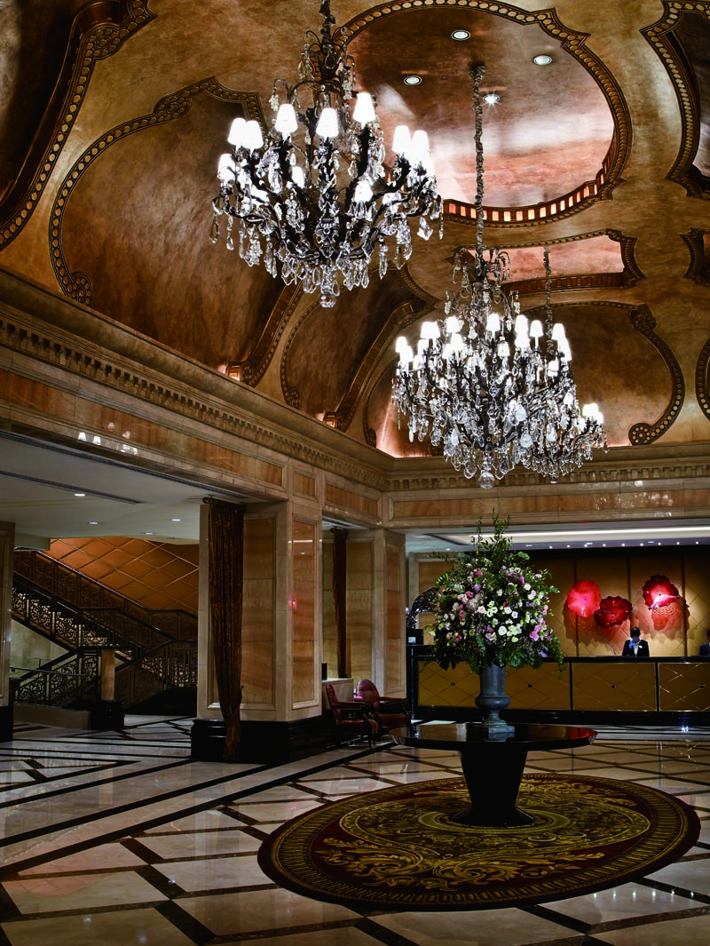 Langham Hong Kong lobby