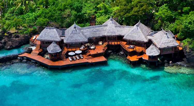 The island was purchased by Malcolm Forbes in 1972 and later on sold to Red Bull founder Dietrich Mateschitz.