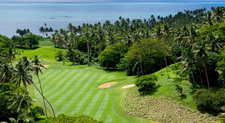 The island's David McLay Kidd–designed golf course.