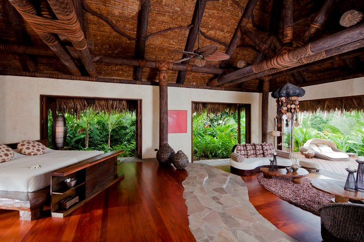 Luacala is made up of 25 sprawling villas.