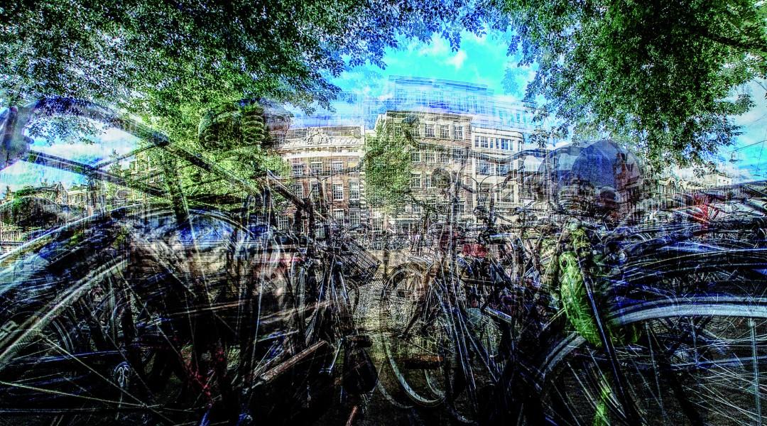 Amsterdam Is Dit Mijn Fiets by Laurent Dequick.