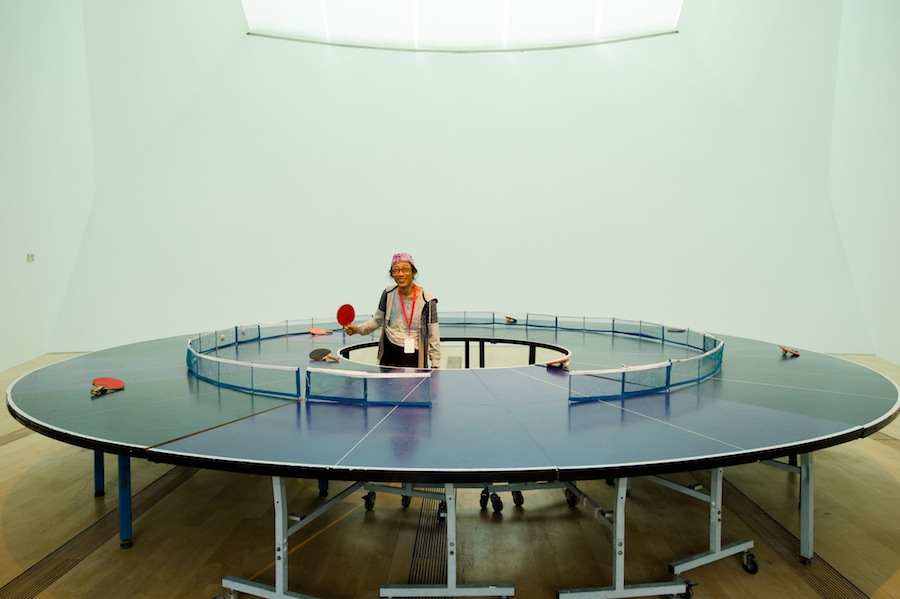 Ping Pong Go Round by Lee Wen.