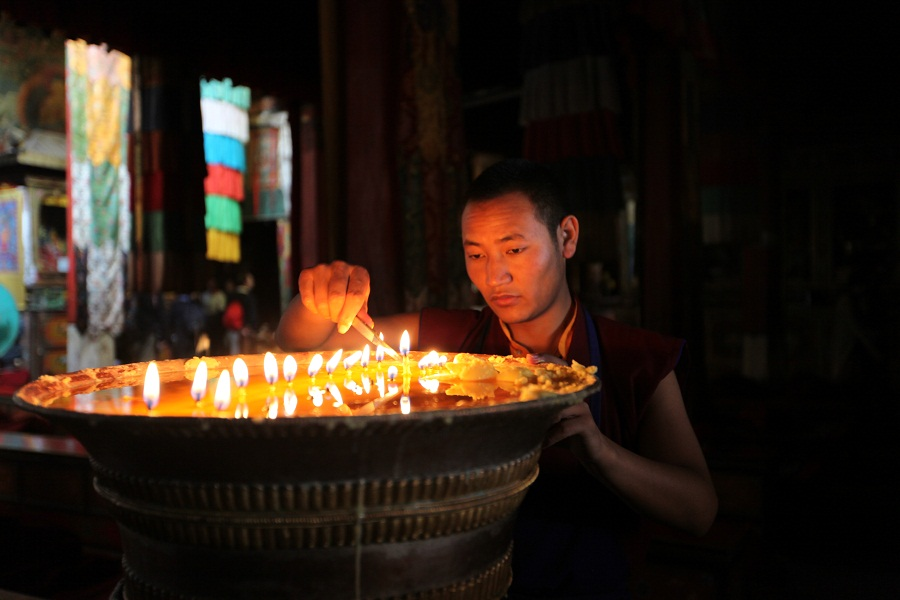 Stops into monasteries throughout the journey provide glimpses into the region's culture and religious practices.