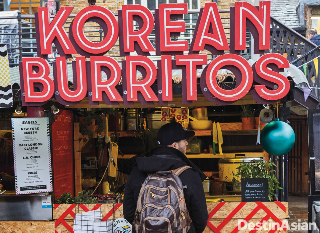 The Kimchinary outlet at KERB Camden Market.