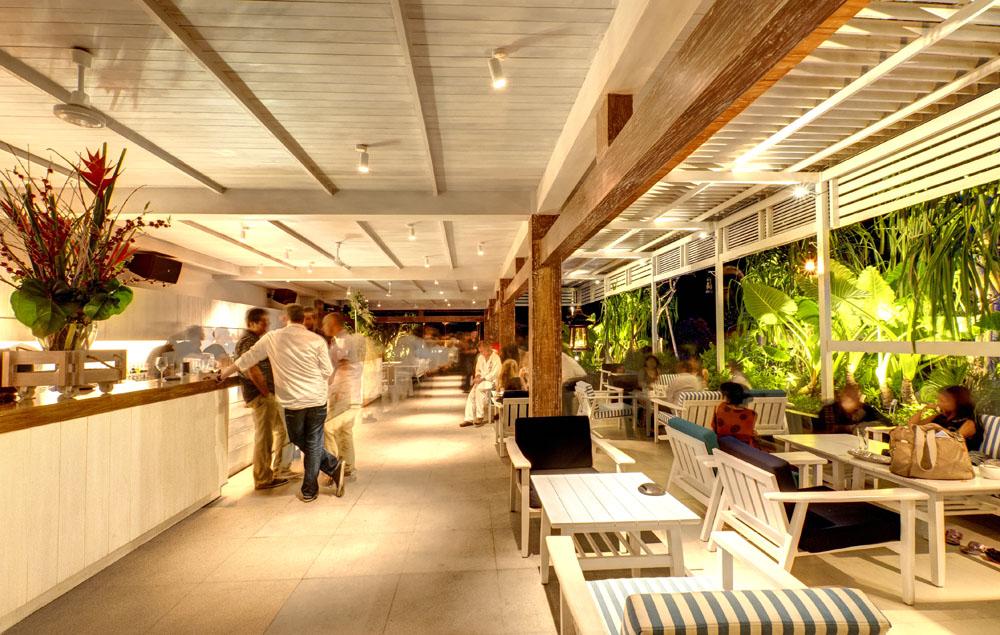 The lounge at Mosaic Beach Club.