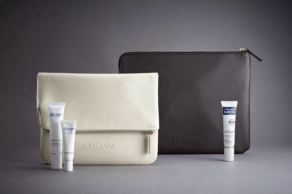 German designer Escada has designed the new Lufthansa first-class amenity kits.