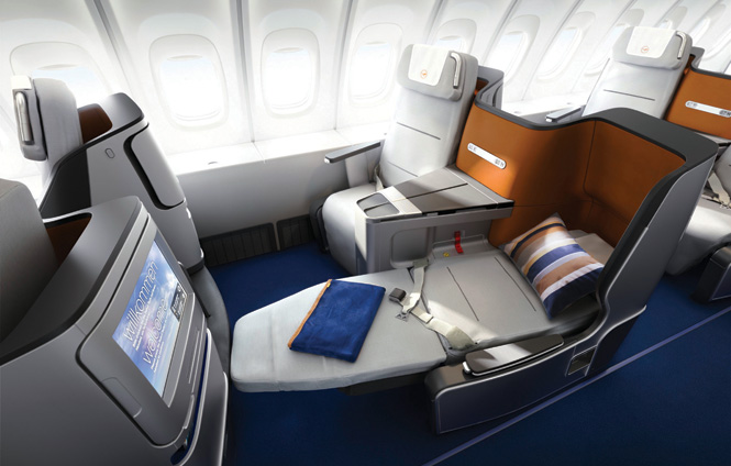 Business class will be available on the promotional flights.