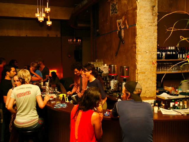 Luzia is a standby in the Kreuzberg drinking scene.